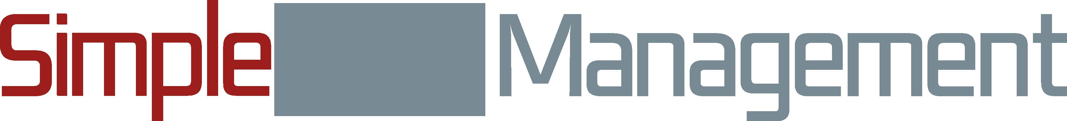 SimpleData Management logo RED